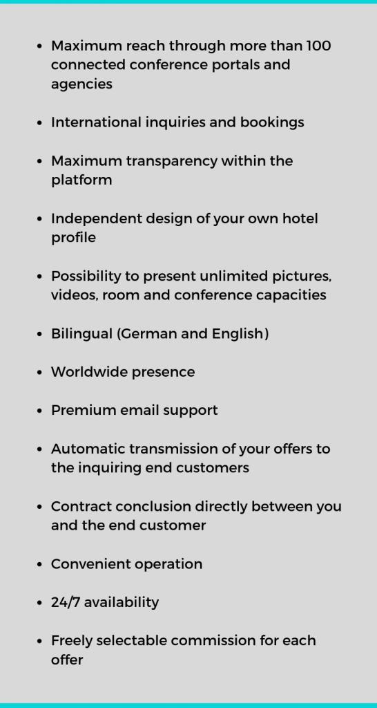 EN: Hotel Vorteile